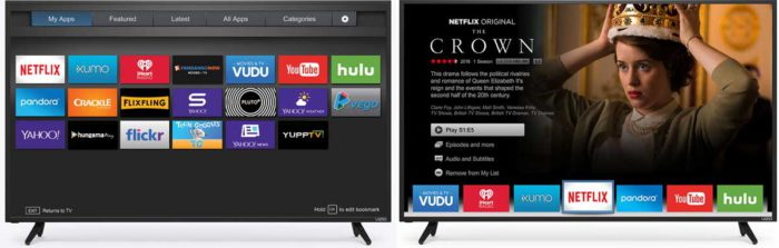Vizio D-Series 2017 smart-tv