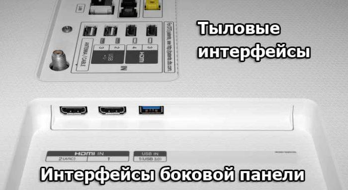 LG SJ850V интерфейсы