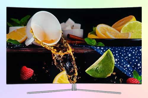 Телевизор Samsung QE55Q7C с технологией QLED