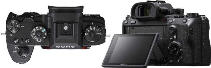 Sony A9 экран