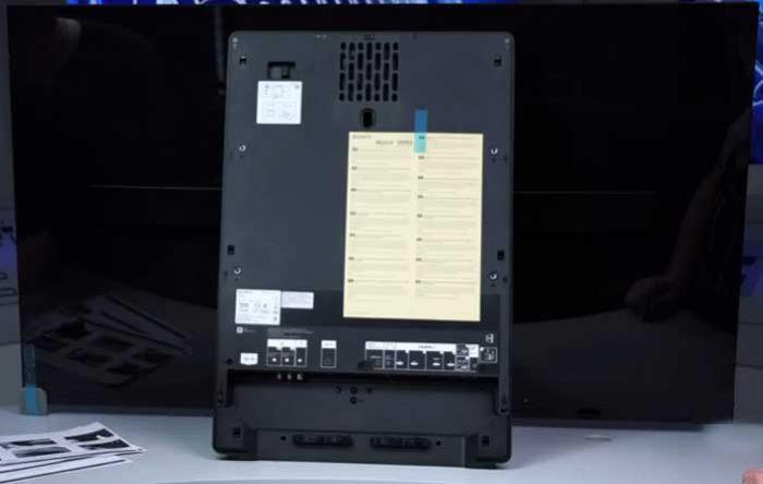 Sony 55A1 акустика