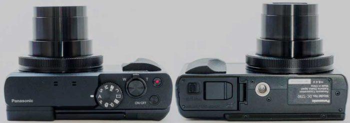 Panasonic TZ90 управление и слот