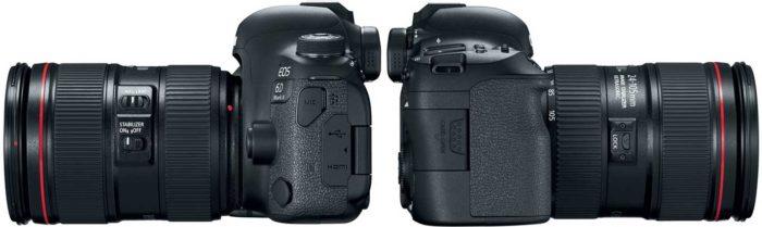 Canon EOS 6D Mark II подключения