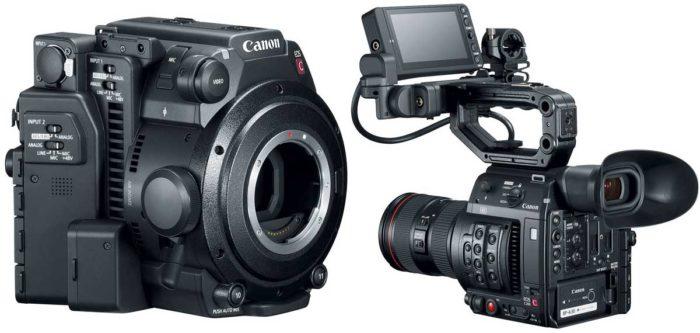 Canon EOS C200 эргономика