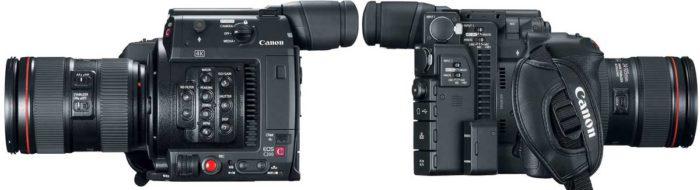 Canon EOS C200 управление