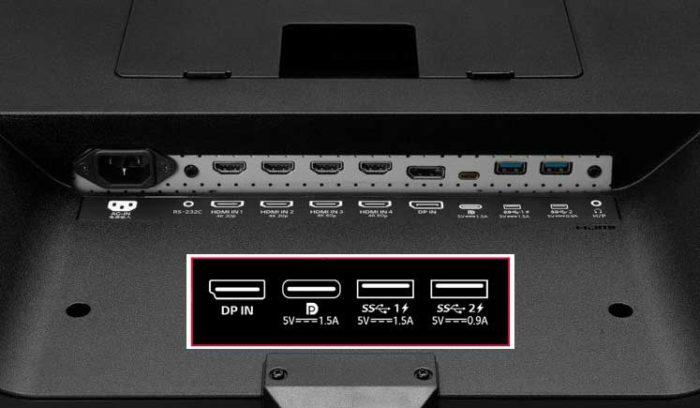 LG 43UD79-B интерфейсы