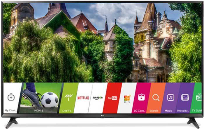LG UJ630V Смарт ТВ