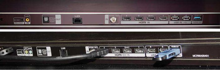 LG G7V  подключения