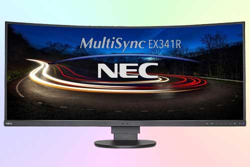NEC MultiSync EX341R-BK с изогнутым экраном UWQHD (21 : 9)