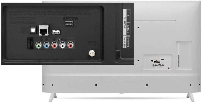 LG UJ639V интерфейсы