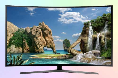 Samsung UE49MU6650U 4K с изогнутым экраном
