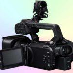 Камеры Canon GX10, XF400 и XF405 снимают видео 4K@50 fps