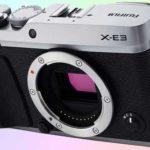 Fujifilm X-E3 фотокамера 4К с датчиком 24 МП