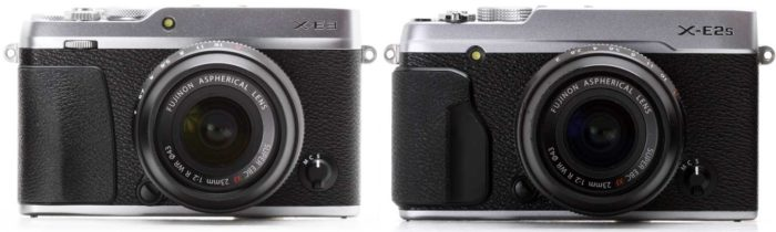 Fujifilm X-E3 и X-E2S отличия