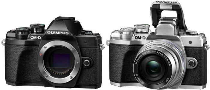 Olympus OM-D E-M10 Mark III дизайн