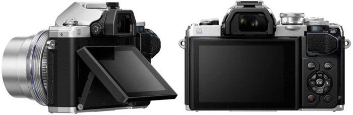 Olympus OM-D E-M10 Mark III экран и датчик