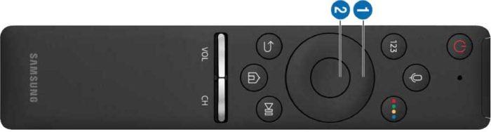 Samsung MU7500U пульт интеллектуальный