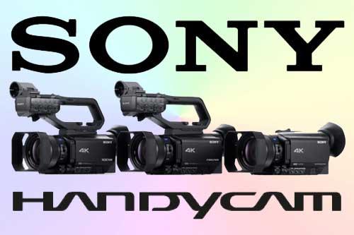 Sony PXW-Z90, HXR-NX80 и FDR-AX700
