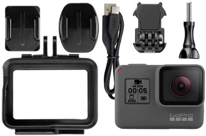 GoPro Hero 6 Black комплектация