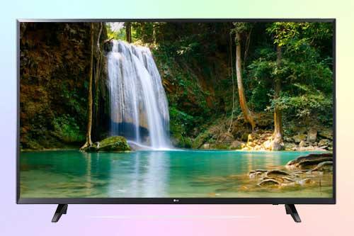 LG 49UJ620V - бюджетный 4K телевизор 2017