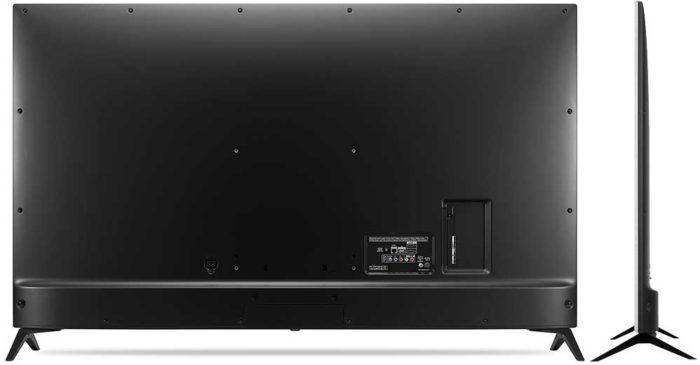 LG UJ651V задняя панель