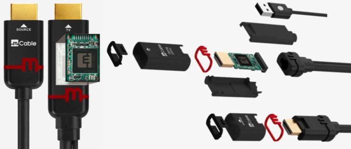 Marseille mCable - HDMI кабель 4K с графическим процессором