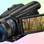 Sony FDR-AX700 4K HDR — полупрофессиональный камкордер