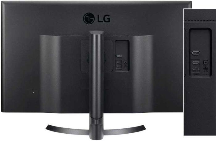 LG 32UD59 интерфейсы