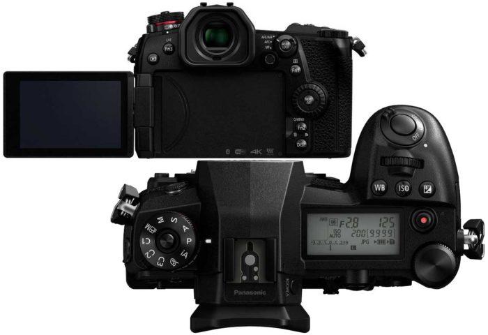 Panasonic Lumix DC-G9 экран и управление