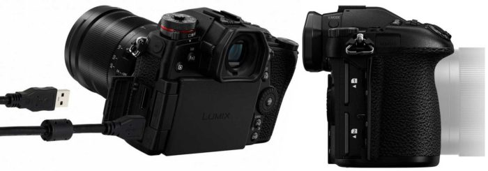 Panasonic Lumix DC-G9 коммутация
