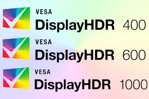 DisplayHDR - стандарт от VESA