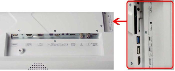 Sharp XUF8772 интерфейсы
