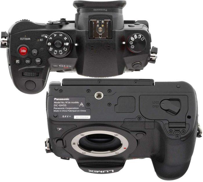 Panasonic GH5S управление