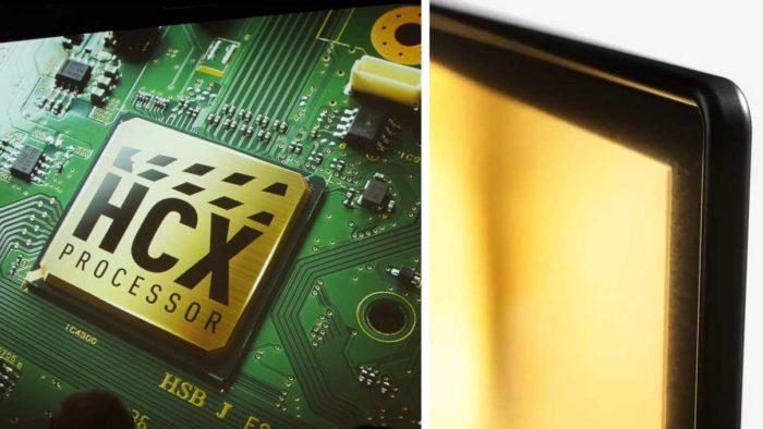 Panasonic FZR950 дизайн и процессор