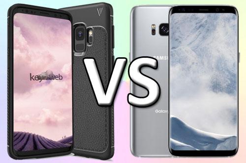 Samsung Galaxy S9 и Galaxy S8 отличия