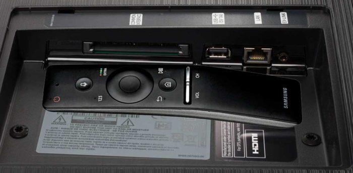 Samsung QE55Q6F подключения