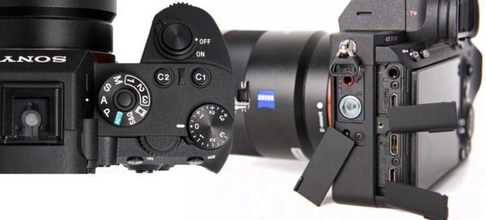 Sony A7R III управление