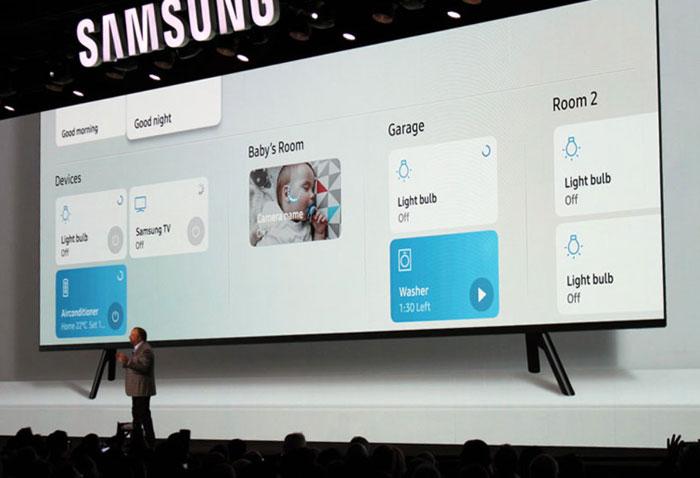 Bixby и SmartThings в телевизорах Samsung 2018