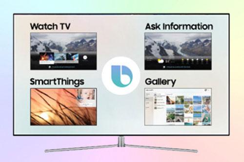SmartThings и Bixby - голосовой помощник в Самсунг ТВ 2018