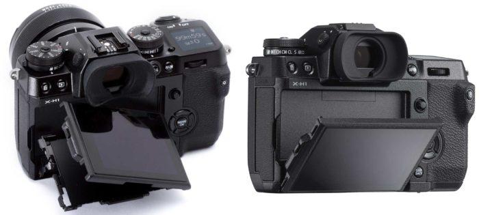 Fujifilm X-H1 дисплей
