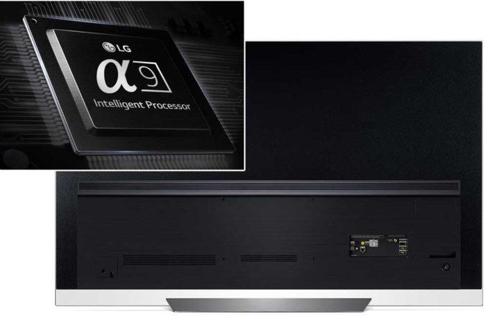 LG OLED55E8V задняя панель
