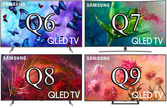Телевизоры Samsung 2018 года для Европы