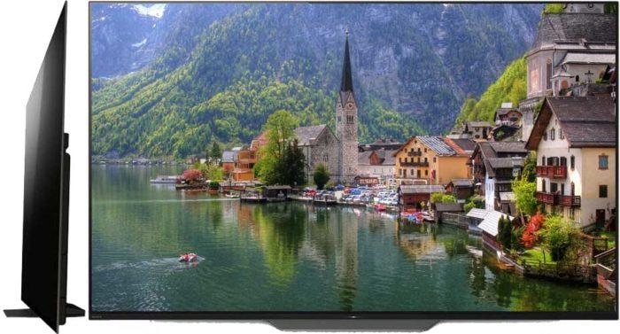 Sony Bravia KD-55AF8 OLED обзор