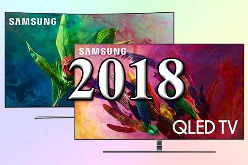 Модельный ряд телевизоров Samsung 2018 года