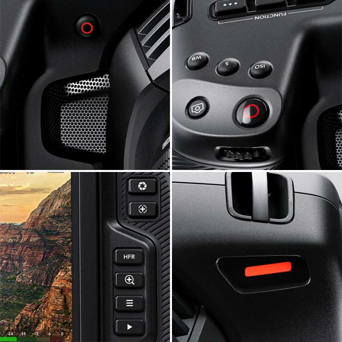 Blackmagic Design Pocket Cinema Camera 4K управление
