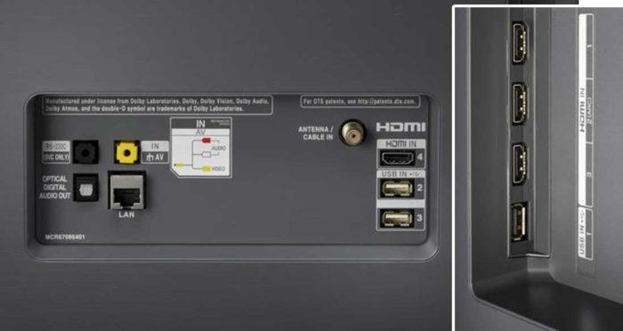 LG C8V интерфейсы