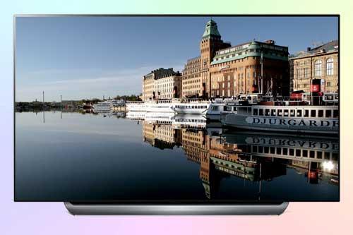 LG OLED55C8V из флагманской серии OLED