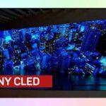 8K MicroLED дисплей, представленный Sony на NAB 2018