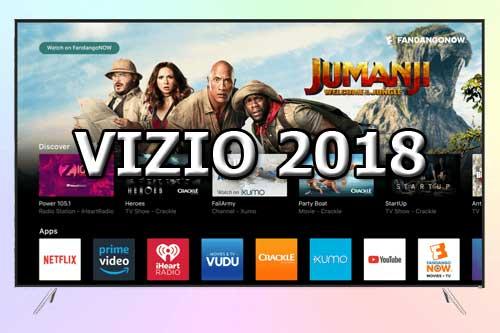 Модельный ряд телевизоров Vizio 2018 года