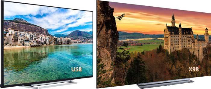 Телевизоры Toshiba 2018 года